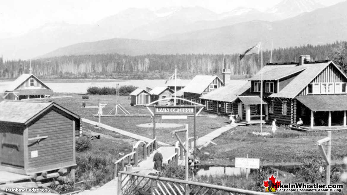 Rainbow Lodge in 1926