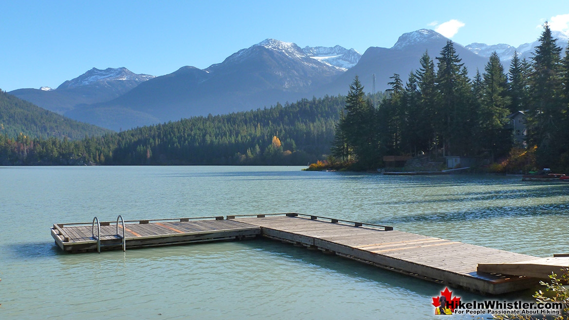 Best Whistler Parks - Green Lake Pier