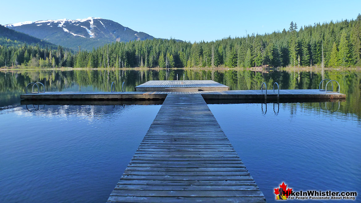 Best Whistler Parks - Lost Lake Pier