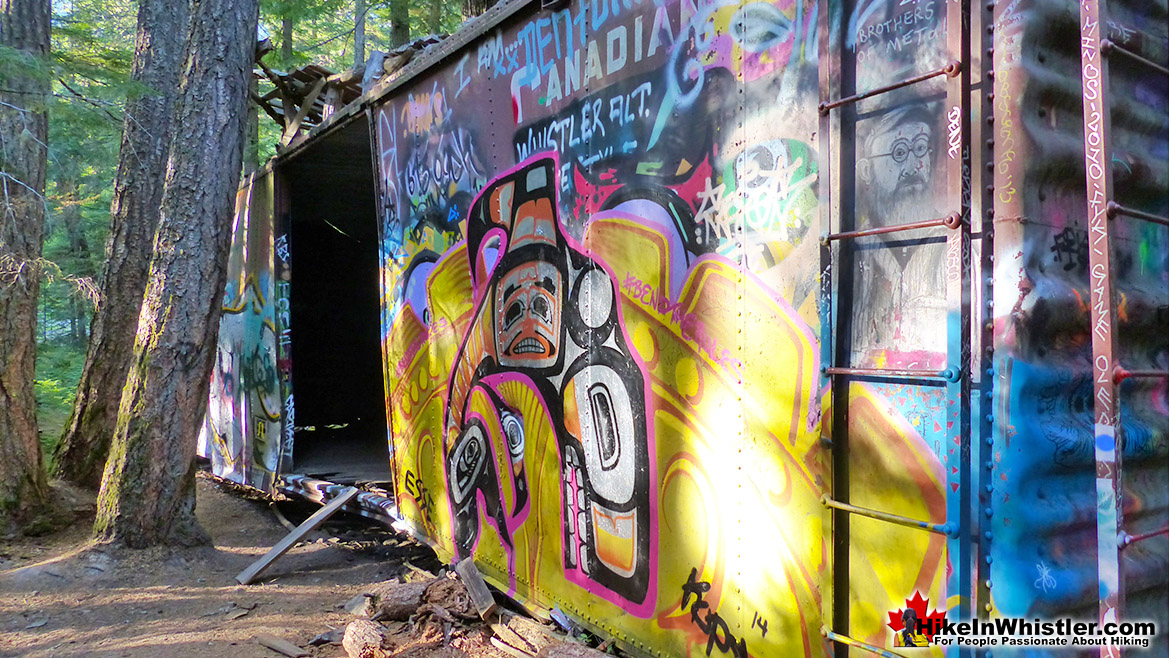 Whistler Train Wreck Greatness Mural
