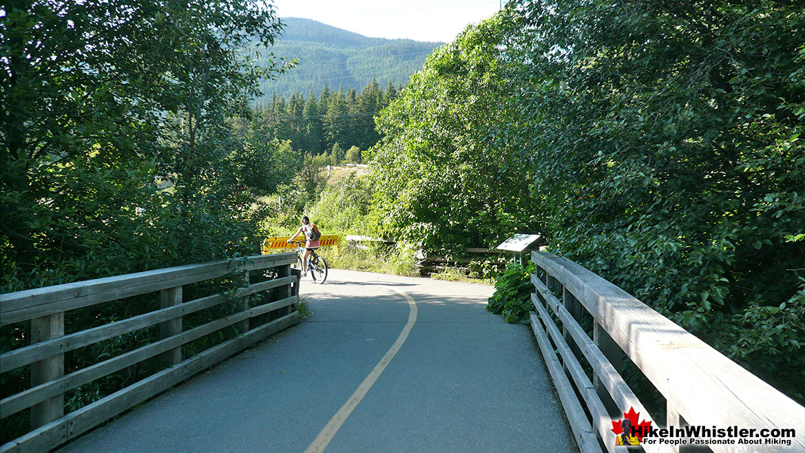 River of Golden Dreams Bridge Run in Whistler