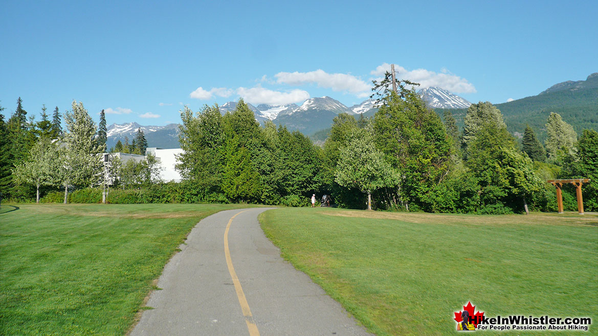 Meadow Park Run in Whistler