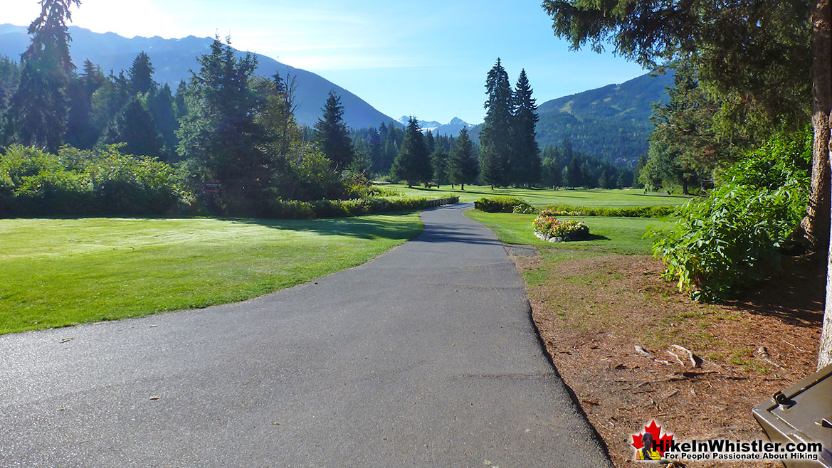 Crabapple Corner Whistler Golf Course Run