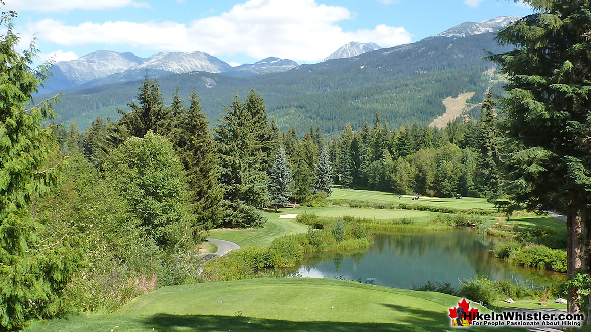 View at the End of Whistler Golf Course