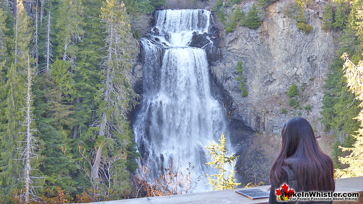 Alexander Falls is 12.8 Kilometres from Brandywine Falls
