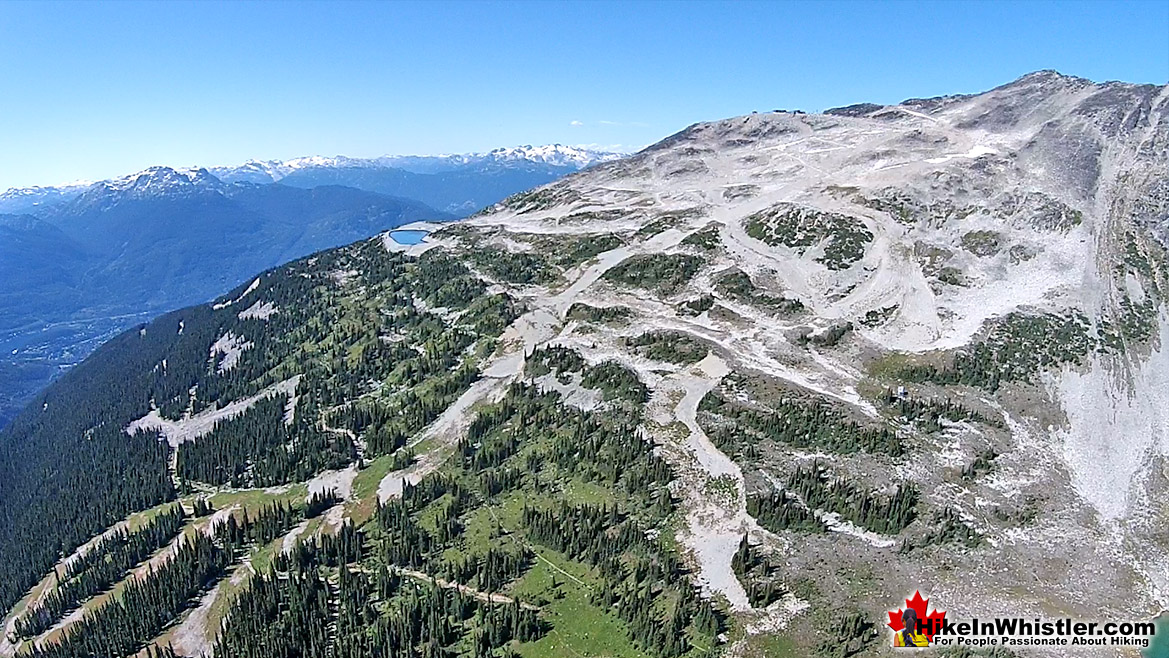 Blackcomb Mountain Aerial View 33