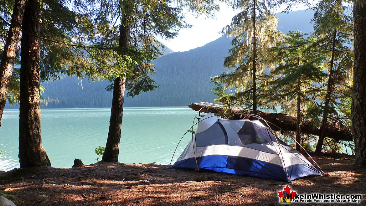 Singing Creek Campground, Cheakamus Lake