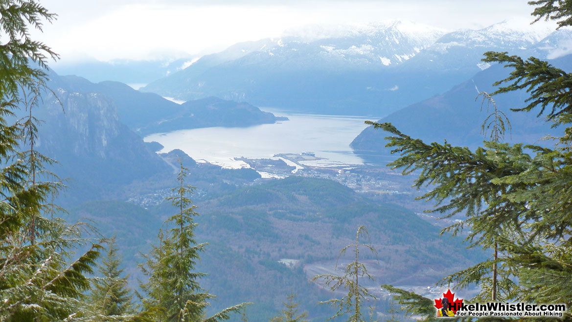 Elfin Lakes Trail View of Squamish