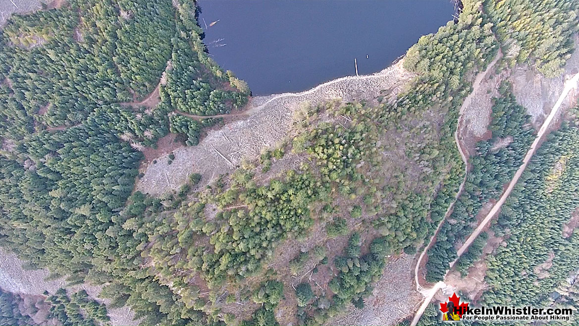 Logger's Lake Aerial View 34