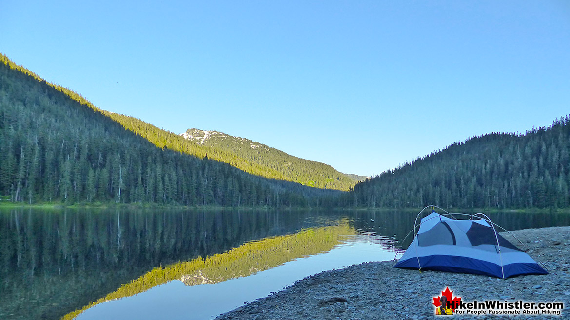 Madeley Lake Tent Hike in Whistler