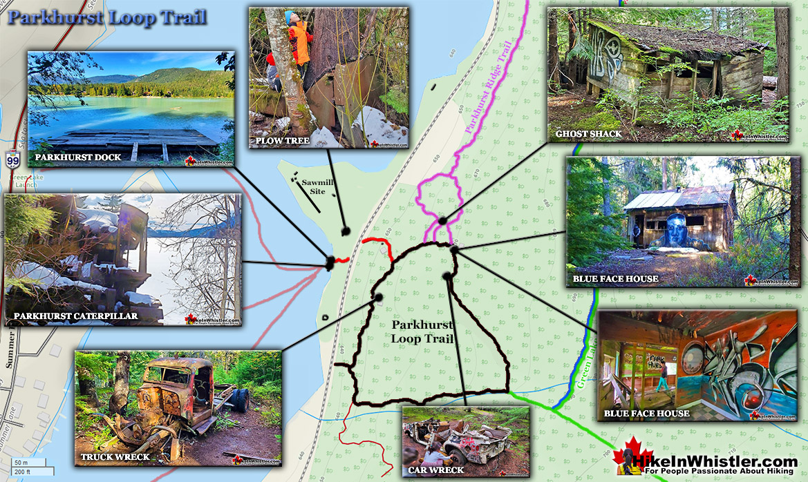 Parkhurst Loop Trail Map v2
