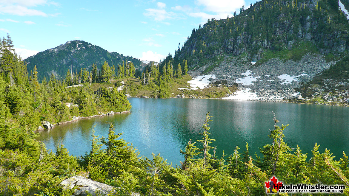 Rainbow Lake Hike in Whistler