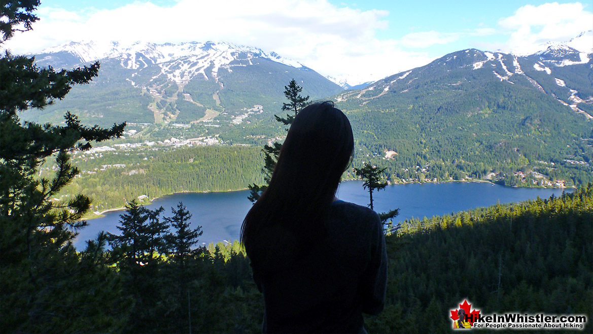 View of Whistler Valley from the Flank Trail