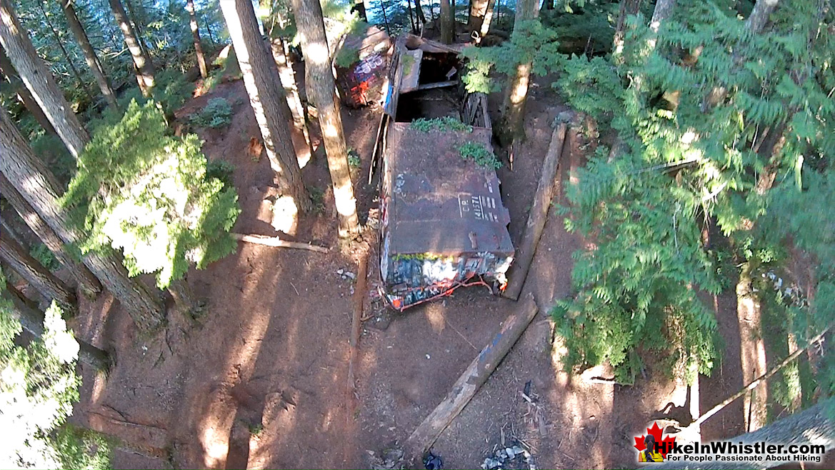 Whistler Train Wreck Aerial View 35