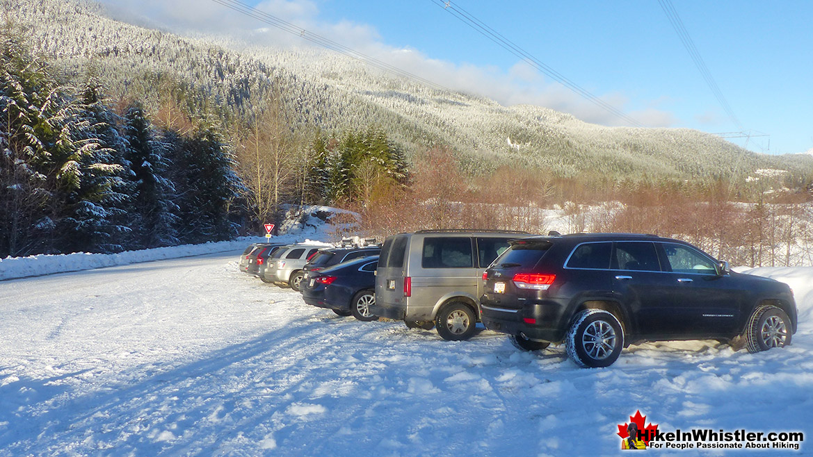 Whistler Train Wreck Winter Parking
