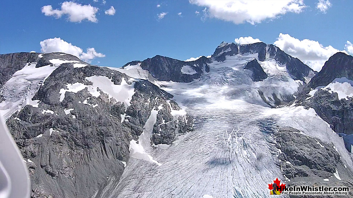Wedge Mountain and Wedge Glacier