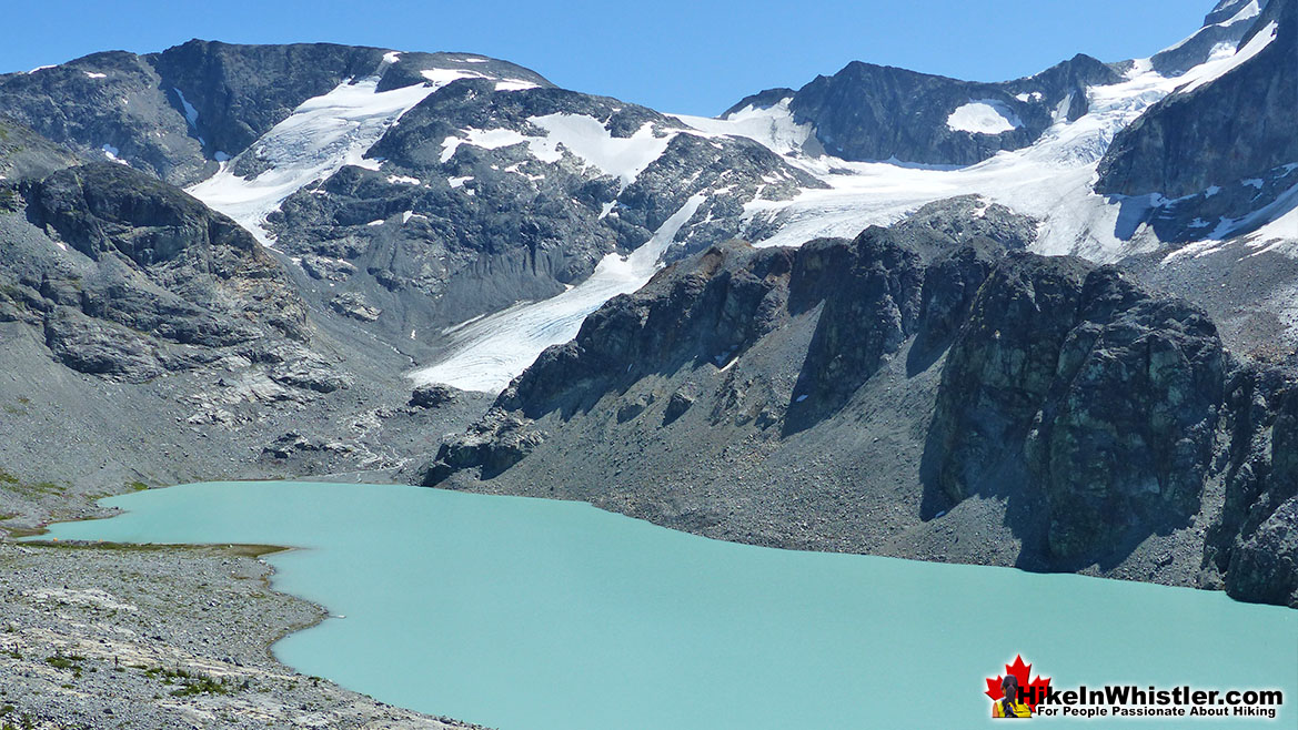 Wedgemoiunt Lake and Wedge Glacier